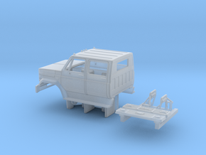 GMC/Chevrolet C 6000 4 Door Cab Kit 1-87 HO Scale  in Smooth Fine Detail Plastic