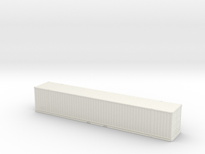 53ft High-Cube Container 1/160 in White Natural Versatile Plastic