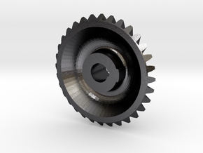 CounterShaftGear F-221-G - 1-8th Scale in Polished and Bronzed Black Steel