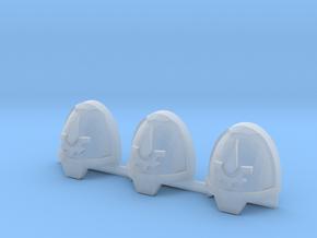 Commission 163 Gravus shoulder pads x3 L #2 in Smooth Fine Detail Plastic