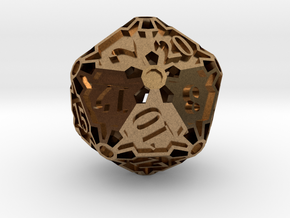 Premier d20 in Natural Brass