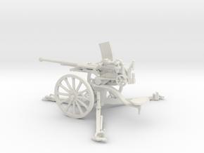 1/35 IJA Type 98 20mm anti-aircraft gun in White Natural Versatile Plastic