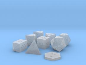 Polyset Horizontal + D2 + D4C - Fantasy Elf Font in Smoothest Fine Detail Plastic