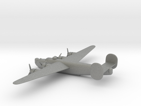 Consolidated B-24J (w/o landing gears) in Gray PA12: 6mm