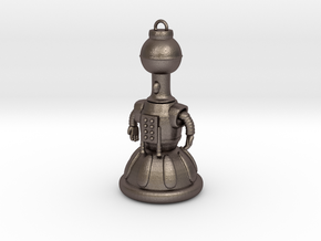 Tom Servo Keychain in Stainless Steel