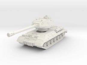 IS-2M Tank 1/87 in White Natural Versatile Plastic