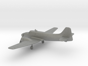Fokker S.13 Universal Trainer in Gray PA12: 1:200