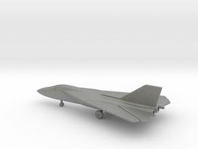 General Dynamics F-111B Aardvark (swept wings) in Gray PA12: 6mm