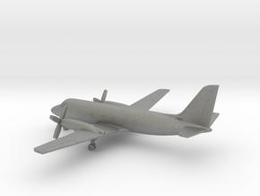 Grumman Gulfstream I (G-159) in Gray PA12: 6mm