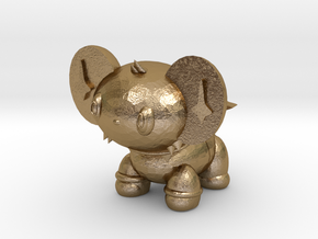 Shiny Shinx in Polished Gold Steel