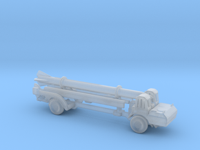 1/220 Scale Corporal Missile Launcher in Smooth Fine Detail Plastic