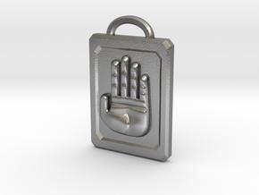 JoJo Hand Emblem in Natural Silver