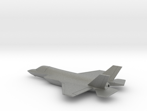 Lockheed Martin F-35B (w/o landing gears) in Gray PA12: 1:200