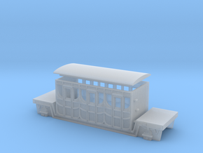 3mm Scale Titfield Thunderbolt Dan's Coach in Smooth Fine Detail Plastic