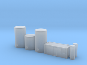 1:400 Glycol Storage in Smooth Fine Detail Plastic