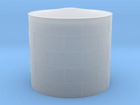 1:400 Fuel Storage Tank 1700m3 in Smooth Fine Detail Plastic