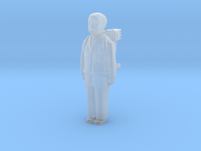 Capsule Ghostbusters: Zedemore in Smooth Fine Detail Plastic