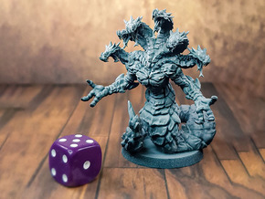 Yuan-ti Anathema - D&D - Printed Obsession in Gray PA12