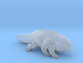 Basilisk miniature model for fantasy games DnD rpg in Smooth Fine Detail Plastic