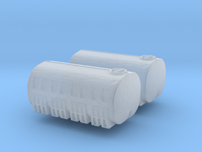 3250 Gallon Water Tank (x2) 1/220 in Smooth Fine Detail Plastic