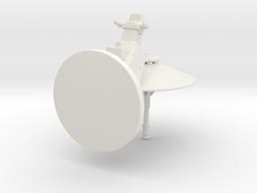 dish turret 1:24 in White Natural Versatile Plastic