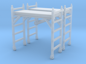 Scaffolding Unit (x2) 1/72 in Smooth Fine Detail Plastic