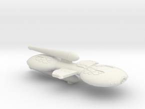 3788 Scale Gorn X-Ship Advanced Command Cruiser+ in White Natural Versatile Plastic