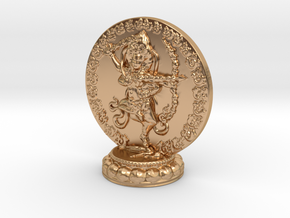 Kurukulle Miniature Statue in Polished Bronze