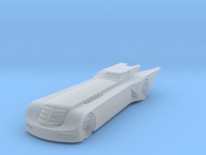 Batmobile Animated  in Smoothest Fine Detail Plastic: 1:100