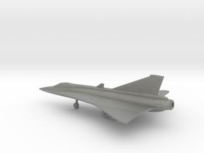 Saab J.35 Draken in Gray PA12: 1:200