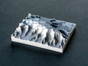 Mt. Logan, Yukon, Canada, 1:250000 Explorer in Full Color Sandstone