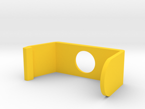 Privacy Shade in Yellow Processed Versatile Plastic