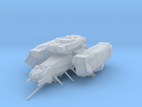 Alien USCSS Nostromo/screen accurate 1:2700 in Smooth Fine Detail Plastic