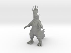 Titanosaurus kaiju monster miniature game rpg 65mm in Gray PA12