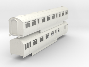 b-32-lner-coronation-twin-rest-3rd-brake in White Natural Versatile Plastic
