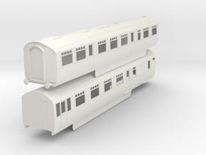 b-43-lner-coronation-twin-rest-3rd-brake in White Natural Versatile Plastic