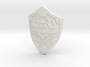 Hylian Shield - WarHammer 40k in White Natural Versatile Plastic
