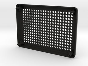 AE86 Speaker Cover in Black Natural Versatile Plastic
