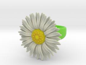 Daisy Ring in Full Color Sandstone