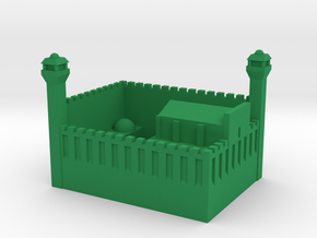 Cave of the Patriarchs in Hebron in Green Processed Versatile Plastic