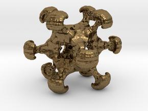 MengerSeeds Pendant in Natural Bronze