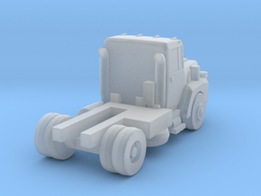 Mack Short Semi Truck - Nscale in Smooth Fine Detail Plastic