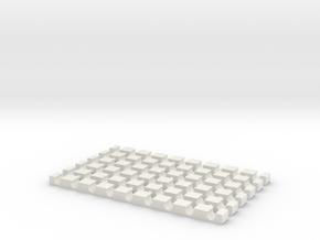 heatcableorganizer 4mm ants, reptiles,  amphibians in White Natural Versatile Plastic