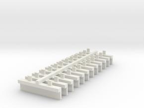 trapje lima 87 in White Natural Versatile Plastic