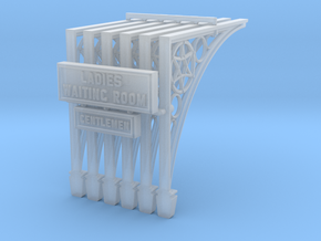 PB77 Canopy support brackets in Smooth Fine Detail Plastic