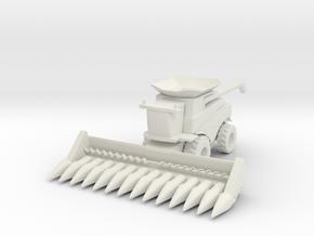 J.D. T Combine Harvester 1/100 in White Natural Versatile Plastic