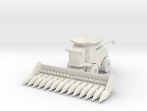 J.D. T Combine Harvester 1/200 in White Natural Versatile Plastic