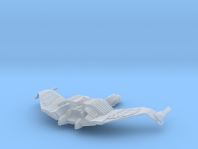 Klingon K'Vort Class Battlecruiser in Smooth Fine Detail Plastic