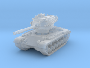 M47 Patton (W. Germany)  1/220 in Smooth Fine Detail Plastic