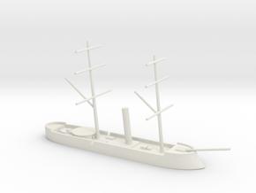 1/700 CSS Stonewall (Ironclad Kotetsu - Azuma) in White Natural Versatile Plastic